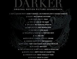 Płyta Fifty Shades Darker gotowa! 💗🎧🎥💝❤️