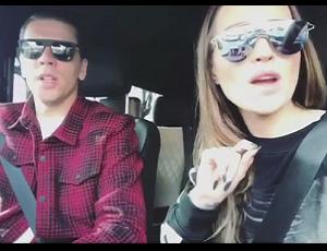 Marina i Wojciech Szczęsny śpiewają hit Eda Sheerana!
