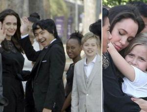 Angelina Jolie pierwszy raz od miesięcy pokazała dzieci!
