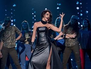 Zosia Nowakowska jako WhitneyHouston w Twoja Twarz Brzmi Znajomo